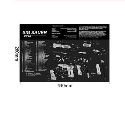 Tapis de souris – Sig Sauer P226 Tapis de souris