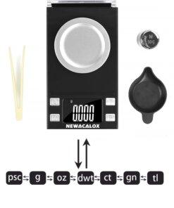Balance électronique haute précision Rechargement