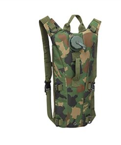 Sac Hydratation – Camel Bag – Green Camouflage Bagagerie