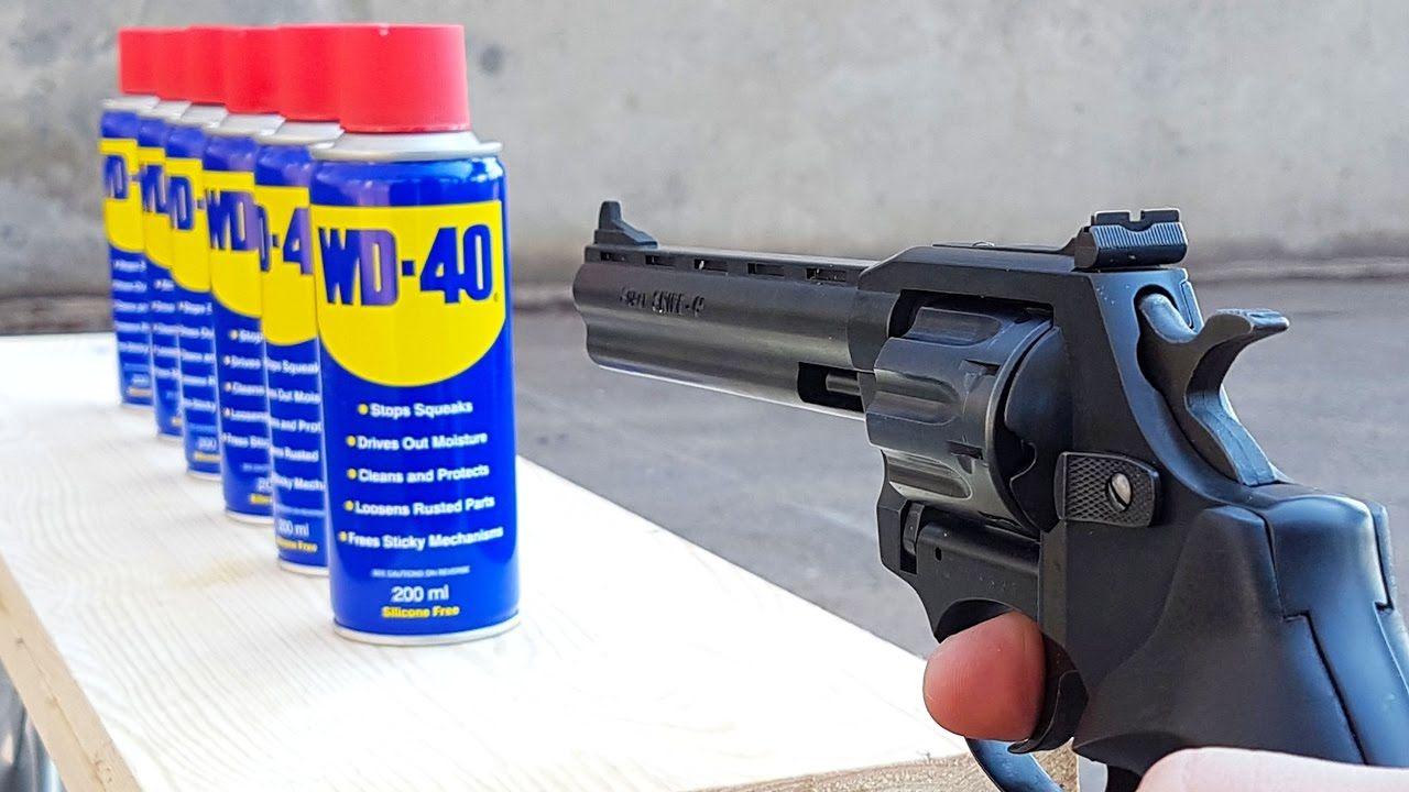 Nettoyer vos armes avec le WD-40