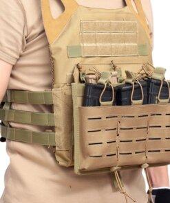 Porte 3 Chargeurs Molle – Fusil d'assaut Porte Chargeur Arme Longue